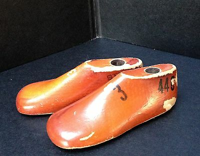 Pair Vintage Wood Child's Size 3 Stuart Shoe Lasts