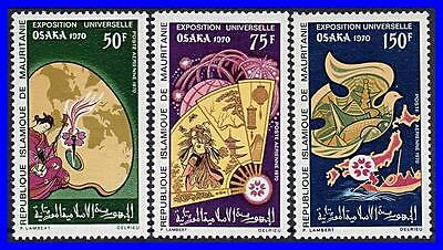 MAURITANIA 1970 expo /Japan MNH
