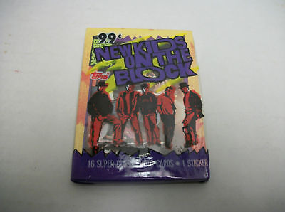 1989 New New Kids On The Block Trading Cards Topps