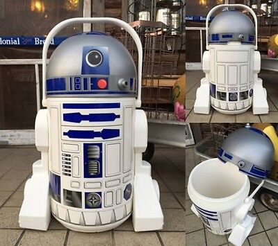 USED Star Wars R2D2 Potable Cooler  Star Wars × Pepsi  Novelty  From JAPAN F/S