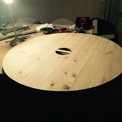 traditional wooden planked round shield blank viking/saxon reenactment