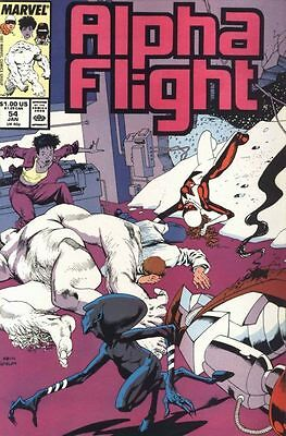 Alpha Flight Vol. 1 (1983-1994) #54