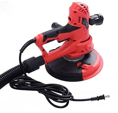 Electric HandHeld Drywall Sander 710W Variable Speed With Vacuum and LED