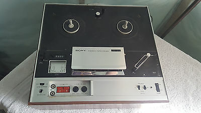 Vintage Sony TC-355 Tapecorder For Parts Only