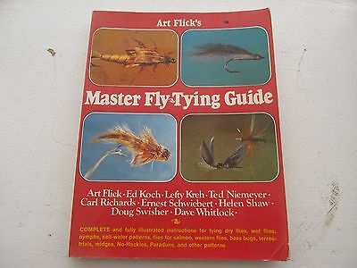 Art Flick's master Fly Tying Guide
