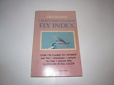 Trout and Salmon Fly Index by Dick Surrette (1979, Paperback, Revised)