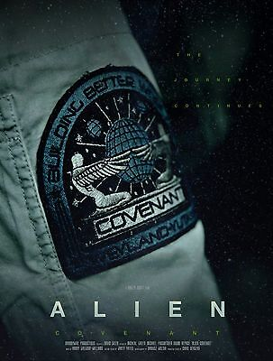 "ALIEN COVENANT - MAXI Photo POSTER - Sticker 36"" x 24"" inch / 91.5 cm 2017 USCSS"