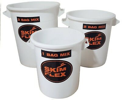 Refina Plaster Mixing Bucket 1,2,&3 bag buckets