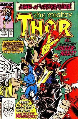 Mighty Thor Vol. 1 (1966-2011) #412 1st Full New Warriors