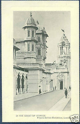 FRANCO BRITISH EXHIBITION 1908 - IN THE COURT OF HONOUR Postcard *