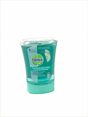 4 x Dettol No Touch Refill Anti-Bacterial Hand Wash  with Cucumber 250ml