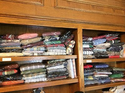 HUGE LOT Over 600+ Men's Pre-Owned Clothing Items Shirts Sport Coats Ties More