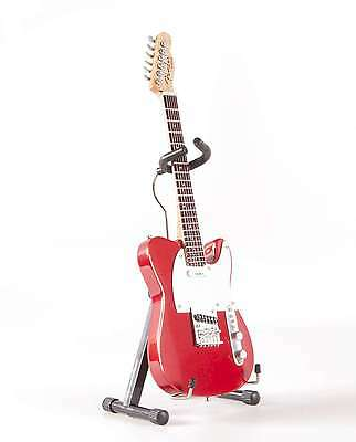 Axe Heaven Fender Licensed Candy Apple Red Tele 1/4 scale Collectible FT-008