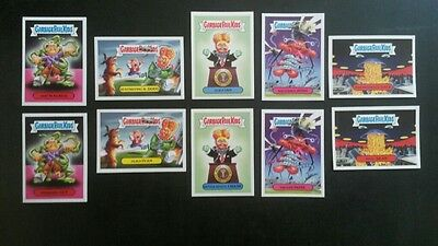 Alien Invasion Set 2017 Topps Garbage Pail Kids Adam-Geddon
