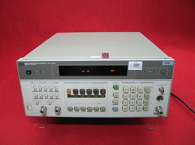 HP Agilent 8902A Measuring Receiver 150KHz -1300MHz Opt 030 033 037-Calibrated