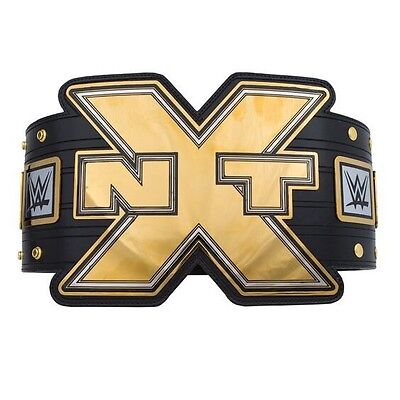 Wwe Nxt Official Replica Championship Title Belt Full Size 2017 With Cloth Case