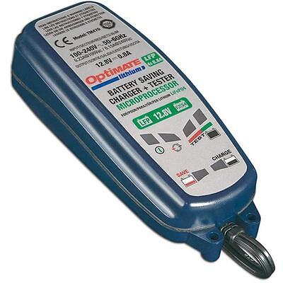 Tecmate Optimate Lithium LiFePO4 Battery Charger Tester Maintainer TM-478