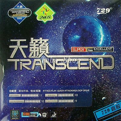 2x RITC TRANSCEND 729 Pips-In Table Tennis , Ping pong Rubber