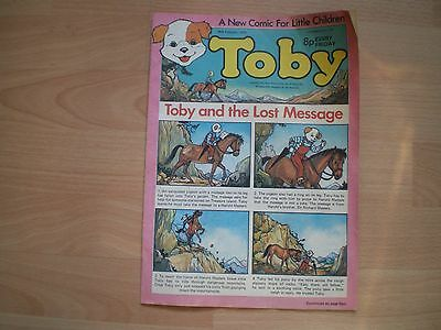 Toby - Vintage Childrens Comic - 28Th February 1976
