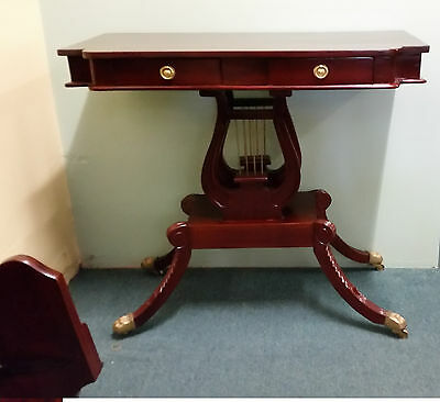 Lyre Hall / Console Table New Antique Reproduction Closing Down Sale