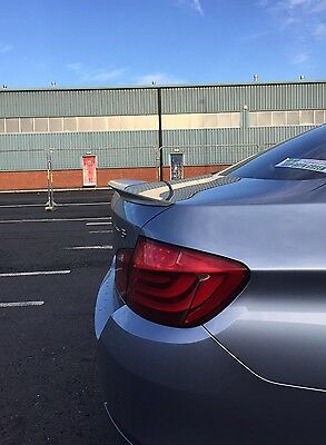 Bmw F10 5 Series M2 Performance Style Curved Rear Trunk Boot Lip Spoiler Y1854