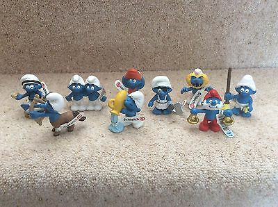 Smurfs Schleich Figure Bundle Brand New With Tags