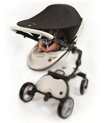 Brand new Outlook solar shade black with zip for pushchair pram and car seat