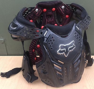 Childs Fox Racing Chest Back Shoulder Elbow Protector