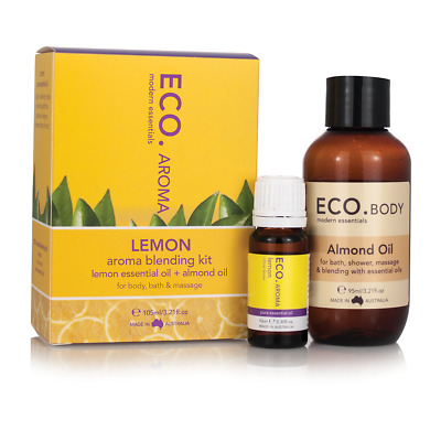 ECO. Lemon Aroma Blending Kit with Almond Oil