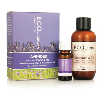 ECO. Lavender Aroma Blending Kit with Macadamia Oil