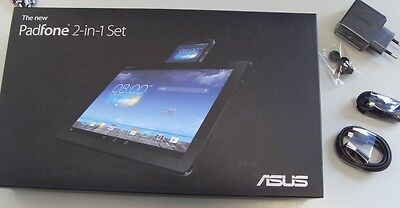 ASUS The new Padfone Station T004 (A86) OVP  Verpackung Tablet schwarz *NEU*