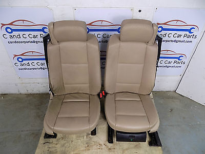 BMW E46 Convertible Beige leather electric memory front seats