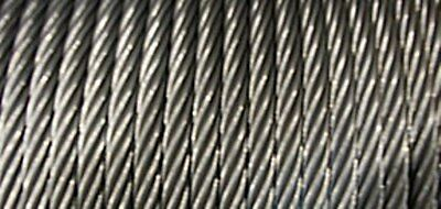 "3/8"" 7x19 Stainless Steel Cable x 100 ft. Perfect for Ziplines"