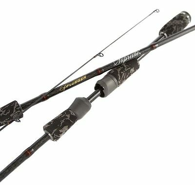 "Pflueger Supreme XT SP722ULT 7'2"" 2 piece 1-3kg Light SPIN Fishing Rod +Warranty"