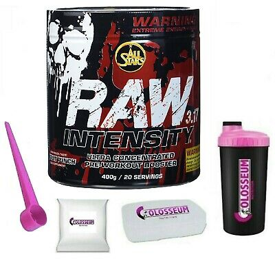 All Stars Raw Intensity 3.17 - 400g + GRATIS Bonus