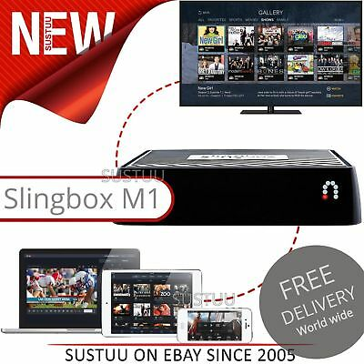 Slingbox M1 Watch TV Anywhere on PC Tablet Phone Fits Any Cable or Satellite NEW