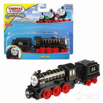 New Thomas & Friends HiroTake-N-Play Die Cast Magnetic Train Engine Official