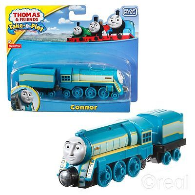 New Thomas & Friends Connor Take-N-Play Die Cast Magnetic Train Engine Official