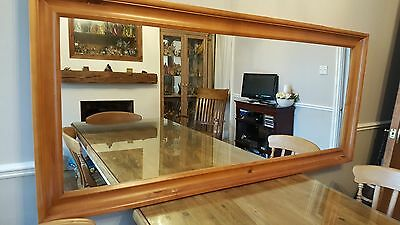 Large Used Wall Mirror Picclick Uk