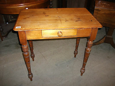 196 - Victorian Pine Side Table