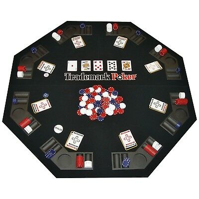 Texas Traveler - Texas Holdem Table Top & 300 Poker Chip Set