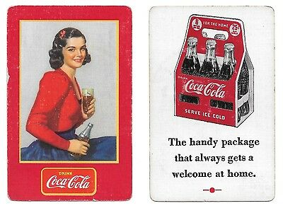 1939 Canadian Coca-Cola Swap Single Extra Joker Playing Card!!!!