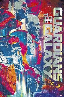 GUARDIANS OF THE GALAXY - VOLUME 2 - MOVIE POSTER 24x36 - MARVEL COMICS 160606