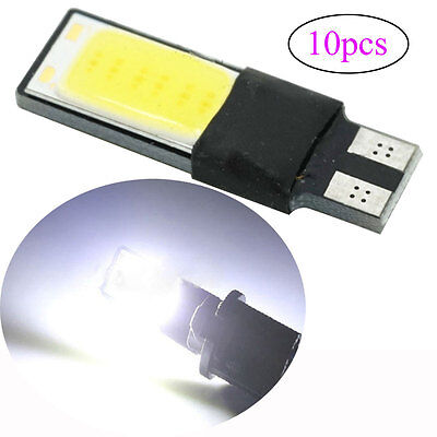 DE Auto LED T10 W5W Canbus COB Chip Glassockel Lampe Weiß Innenraum Beleuchtung