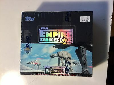 Empire Strikes Back rare wide vision glossy factory sealed cards box