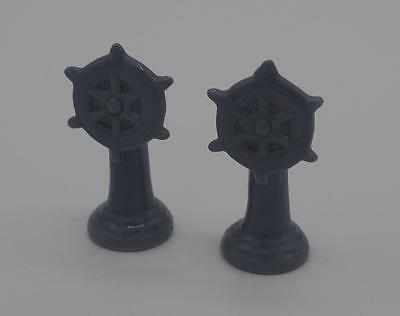 Wade Red Rose Tea Whimsie Ship Wheel Lot of 2