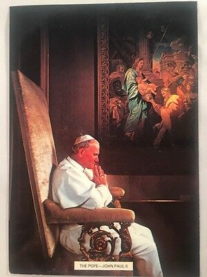 His Holiness Pope John Paul II Postcard - Colourmaster International GS2576