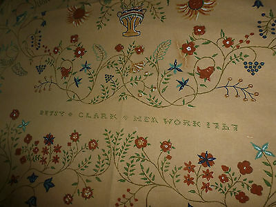 Historic Deerfield Collection Warners Betsy Clark coverlet 1767 Bed throw fabric
