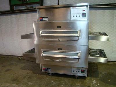 Middleby Marshall Ps360Q Nat. Gas Conveyor Pizza Ovens.....watch  Video Demo