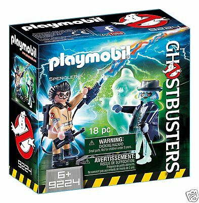 Playmobil - Ghostbusters - Spengler and Ghost - 9224
